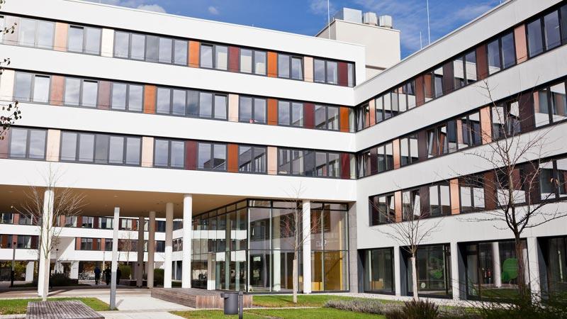 CHIP Gebäude von Aussen
